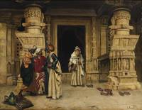 RUDOLF ERNST ; THE CHAT OUTSIDE A MONUMENT