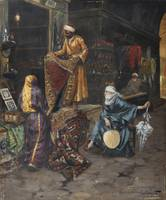 RUDOLF ERNST; THE CARPET MERCHANT