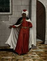 The Kislar Aghassi, Chief of the Black Eunuchs of