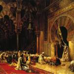 """Weeks Edwin Lord Interior of the Mosque at Cordova"" by motionage"