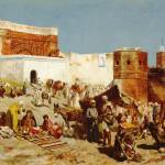 """Weeks Edwin Lord Open Market Morocco"" by motionage"