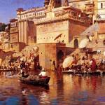 """Weeks Edwin On The River Benares"" by motionage"