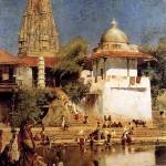 """Weeks Edwin The Temple And Tank Of Walkeshwar At B"" by motionage"