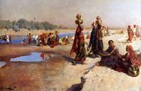 Weeks Edwin Water Carriers Of The Ganges