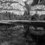 """Yosemite Fall Reflection"" by Mun_Sing"