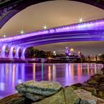 """Under the Purple Bridge"" by GregLundgrenPhotography"