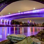 """Under the Purple Bridge"" by GregLundgrenPhotography"
