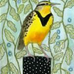 """Meadowlark Dot on Box"" by BlendaStudio"
