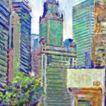 """Chicago Summer"" by BeaconArtWorksCorporation"