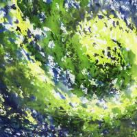 Organic Curve Abstract Watercolor Irina Sztukowski Art Prints & Posters by Irina Sztukowski