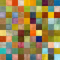 Soft Palette Rustic Wood Series lll Art Prints & Posters by Michelle Calkins