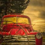 """Old Red Truck"" by boppintheblues"