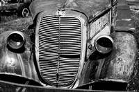 Old Truck bw