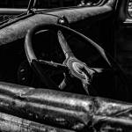 """Old truck steering wheel"" by memoriesoflove"