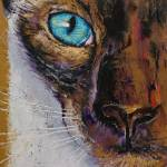 """Siamese Cat Painting"" by creese"