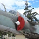 """Military Jet on Display"" by rhamm"