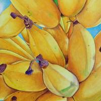 North Shore Bananas Art Prints & Posters by Joel Carlson