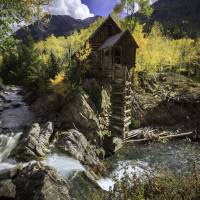 Crystal Mill Art Prints & Posters by Santomarco Photography
