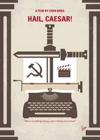 No645 My Hail Caesar minimal movie poster