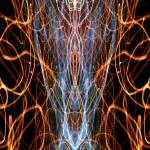 """ABSTRACT LIGHT STREAKS #135 - DESTINY IN FTL"" by nawfalnur"