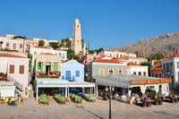 Halki seafront, Greece