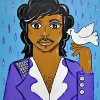 May U Live 2 C the Dawn (Farewell Prince) Art Prints & Posters by John Gascot