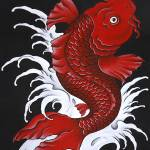 """koi Fish"" by JordanEllis"