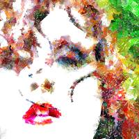 Lips Art Prints & Posters by D. Brent Walton