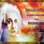 """Einstein imagination"" by amira"