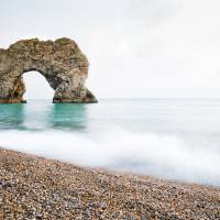 Durdle Door Art Prints & Posters by Ian Middleton