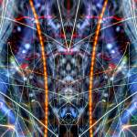 """ABSTRACT LIGHT STREAKS #141 - Cylon inside a Cylon"" by nawfalnur"