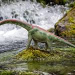 """""""Brachiosaurus at Jurassic Falls"""" by Littlepig"""