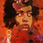 """Denise Oliver-Velez (abstract)"" by thegriffinpassant"