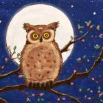 """Owl in the Night"" by Ninas4otos"