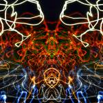 """ABSTRACT LIGHT STREAKS #142."" by nawfalnur"