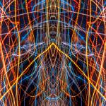 """ABSTRACT LIGHT STREAKS #145"" by nawfalnur"