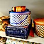 """Vintage Hat Boxes"" by susansartgallery"
