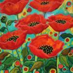 """Poppy Get Together"" by PeggySueDavis"