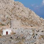 """Chapel in the hills, Halki"" by DavidFowler"