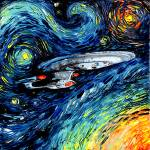 """van Gogh Never Boldly Went"" by SagittariusGallery"