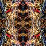 """ABSTRACT LIGHT STREAKS #148"" by nawfalnur"