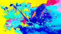 Abstract Butterfly Art 20
