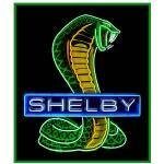 """Shelby Cobra Neon Sign"" by Automotography"