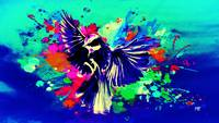Abstract Bird Art 19