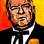 """Curly Joe DeRita (Color)"" by thegriffinpassant"