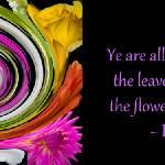 """Flowers of One Garden"" by GlennFrancoSimmons"