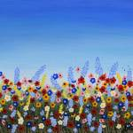 """Wildflowers"" by sharonpattersonsart"