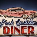 """Pink Cadillac Diner"" by LouiseReeves"