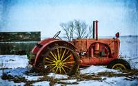 old tractor by brunkild