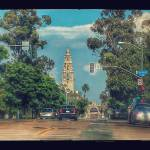 """""""California Tower from 5th & Laurel_marked"""" by LP"""